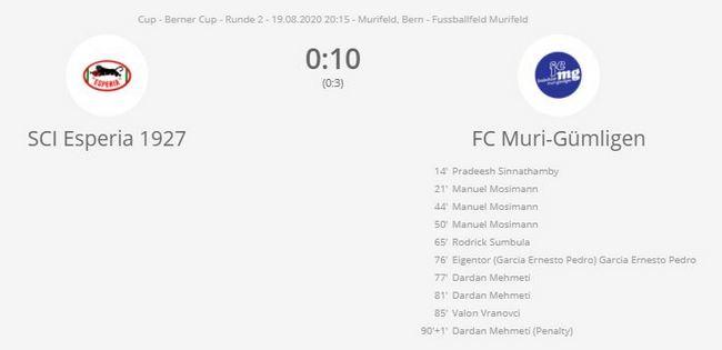 Cup-Esperia-FCMG - FC Muri-Gümligen
